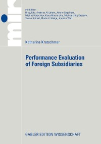 Cover Performance Evaluation of Foreign Subsidiaries