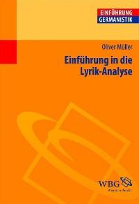 Cover Einführung in die Lyrik-Analyse