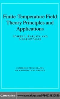 Cover Finite-Temperature Field Theory