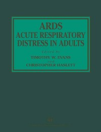 Cover ARDS Acute Respiratory Distress in Adults