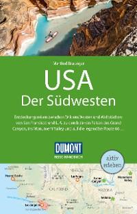 Cover DuMont Reise-Handbuch Reiseführer USA, Der Südwesten