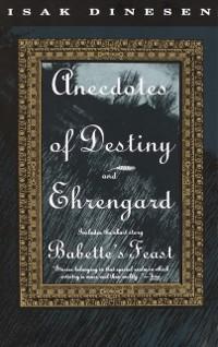 Cover Anecdotes of Destiny and Ehrengard