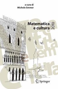 Cover Matematica e cultura 2010