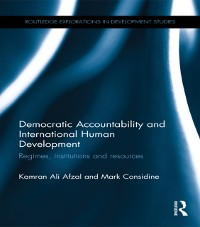 Cover Democratic Accountability and International Human Development