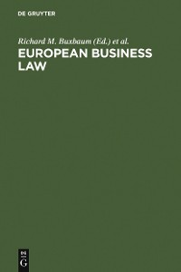 Cover European Business Law
