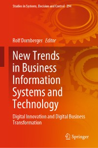Cover New Trends in Business Information Systems and Technology