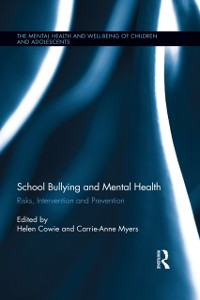Cover School Bullying and Mental Health