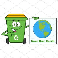 Cover Recycling to Save the Earth