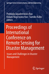 Cover Proceedings of International Conference on Remote Sensing for Disaster Management