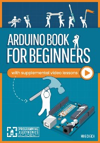 Cover Arduino Book for Beginners