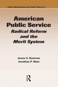 Cover American Public Service