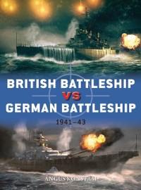 Cover British Battleship vs German Battleship