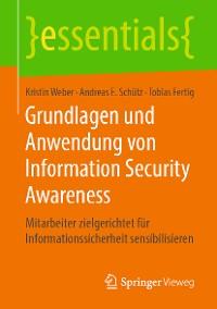 Cover Grundlagen und Anwendung von Information Security Awareness