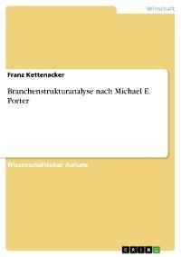 Cover Branchenstrukturanalyse nach Michael E. Porter