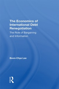 Cover Economics Of International Debt Renegotiation