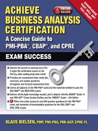 Cover Achieve Business Analysis Certification