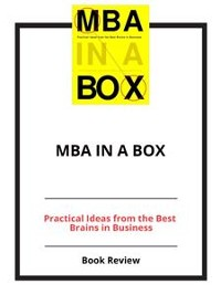 Cover MBA in a Box