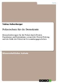 Cover Polizeischutz für die Demokratie