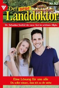 Cover Der neue Landdoktor 92 – Arztroman