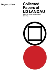 Cover Collected Papers of L.D. Landau