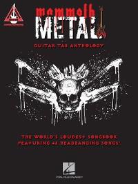Cover Mammoth Metal Guitar Tab Anthology