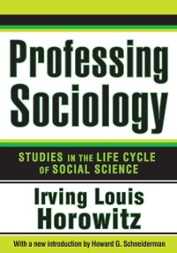 Cover Professing Sociology