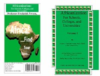 Cover Africanization For Schools,  Colleges, and  Universities