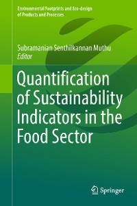 Cover Quantification of Sustainability Indicators in the Food Sector