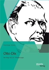 Cover Otto Dix: Der Krieg 1923/24 - 50 Radierungen
