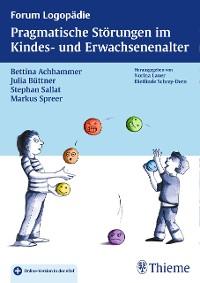 Cover Pragmatische Störungen im Kindes- und Erwachsenenalter