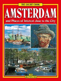 Cover Amsterdam The Golden Book - English Edition