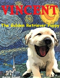 Cover Vincent:  The Golden Retriever Puppy