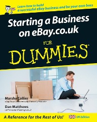 Cover Starting a Business on eBay.co.uk For Dummies