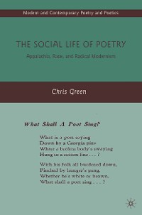 Cover The Social Life of Poetry