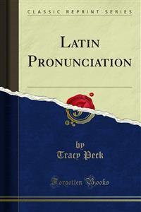 Cover Latin Pronunciation