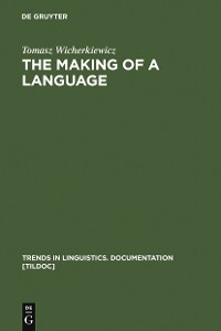 Cover The Making of a Language