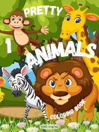 Cover Pretty Animals 1 Coloring Book