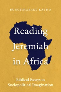 Cover Reading Jeremiah in Africa