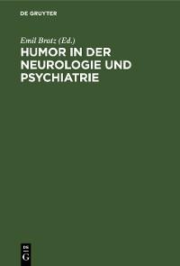 Cover Humor in der Neurologie und Psychiatrie