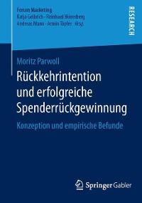 Cover Rückkehrintention und erfolgreiche Spenderrückgewinnung