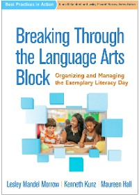 Cover Breaking Through the Language Arts Block