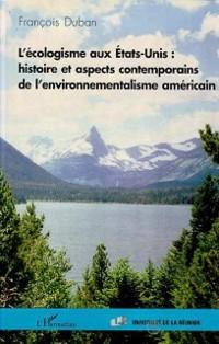 Cover L'ECOLOGISME AUX Etats-Unis