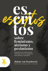 Cover Escritos sobre feminismo, ateísmo y pesimismo
