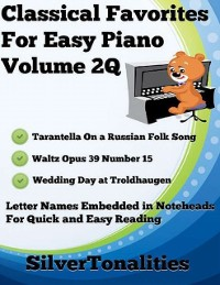 Cover Classical Favorites for Easy Piano Volume 2 Q