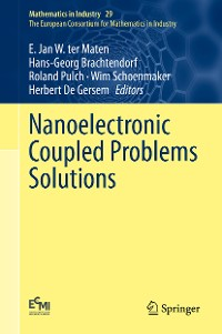 Cover Nanoelectronic Coupled Problems Solutions