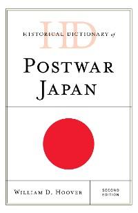 Cover Historical Dictionary of Postwar Japan