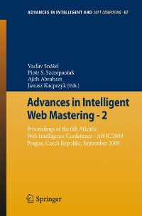 Cover Advances in Intelligent Web Mastering - 2
