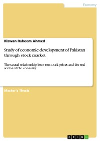 Cover Study of economic development of Pakistan through stock market