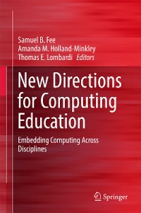 Cover New Directions for Computing Education