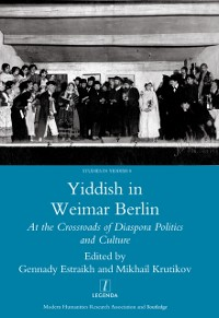Cover Yiddish in Weimar Berlin